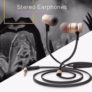 Image 2 - Awei ES 70TY In Ear Earphones With Microphone Metal Stereo Headphone Wired Headset Super Bass Earphone for iPhone Samsung Xiaomi