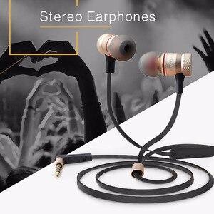 Image 2 - Наушники вкладыши Awei с микрофоном, проводные металлические стереонаушники с микрофоном и супербасами, наушники для iPhone, Samsung, Xiaomi