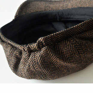 84695e22 ... Men's cap New Newsboy Caps Movie star Retro HERRINGBONE TWEED cap  Driving Men Wool Fleece Hat