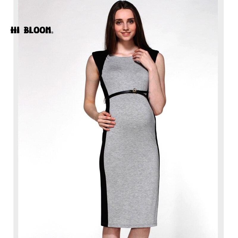 Brand Maternity Clothing Sashes Maternity Dress Elegant Pregnancy ...