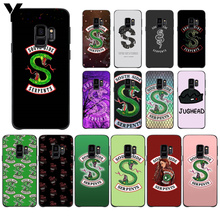 Yinuoda American Hot TV Riverdale Lovely Design Phone Accessories Case For GALAXY  s10 s6 edge  s7 edge s8 plus s9 plus все цены