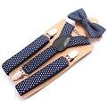 Wholesale Baby Suspenders Kids Braces with Tie Environmental Clasps Suspenders Set Children Suspensorio Elastic Strap 100pcs/lot