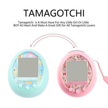 Tamagotchis Виртуальная электронная машина для домашних животных цифровой HD цветной экран E-pet онлайн-взаимодействие 30-игры методы 14-сцены E-pet
