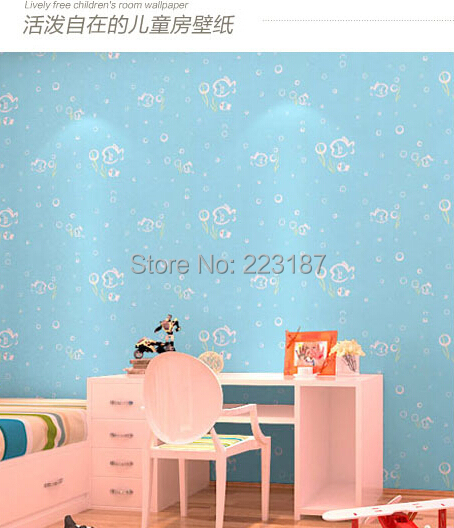 ФОТО palace classic bedroom sitting room Europe type style 10m*53cm non-woven wallpaper living baby kids children room wall sticker