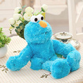 Hot 1 unids 30 cm Lindo Sesame Street marioneta de mano Juguetes de Peluche Elmo Big Vird Cokkie Monster Soft Niños Regalos de Cumpleaños Del Partido presenta