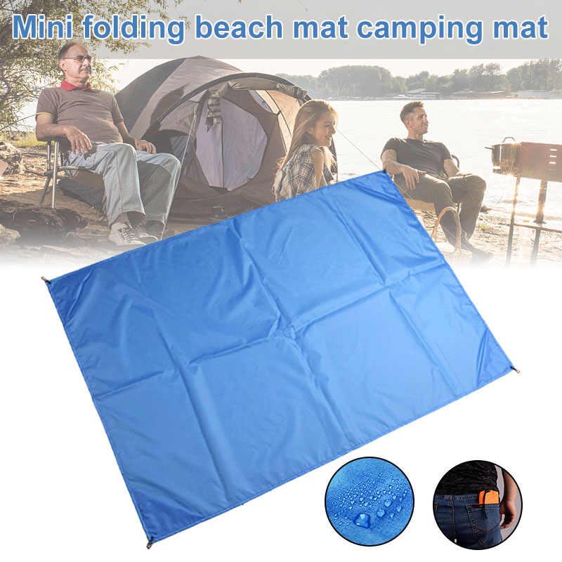 2019 nowo wodoodporny koc plażowy składany Camping mata piknikowa Travel mini kieszeń Pad 19ing