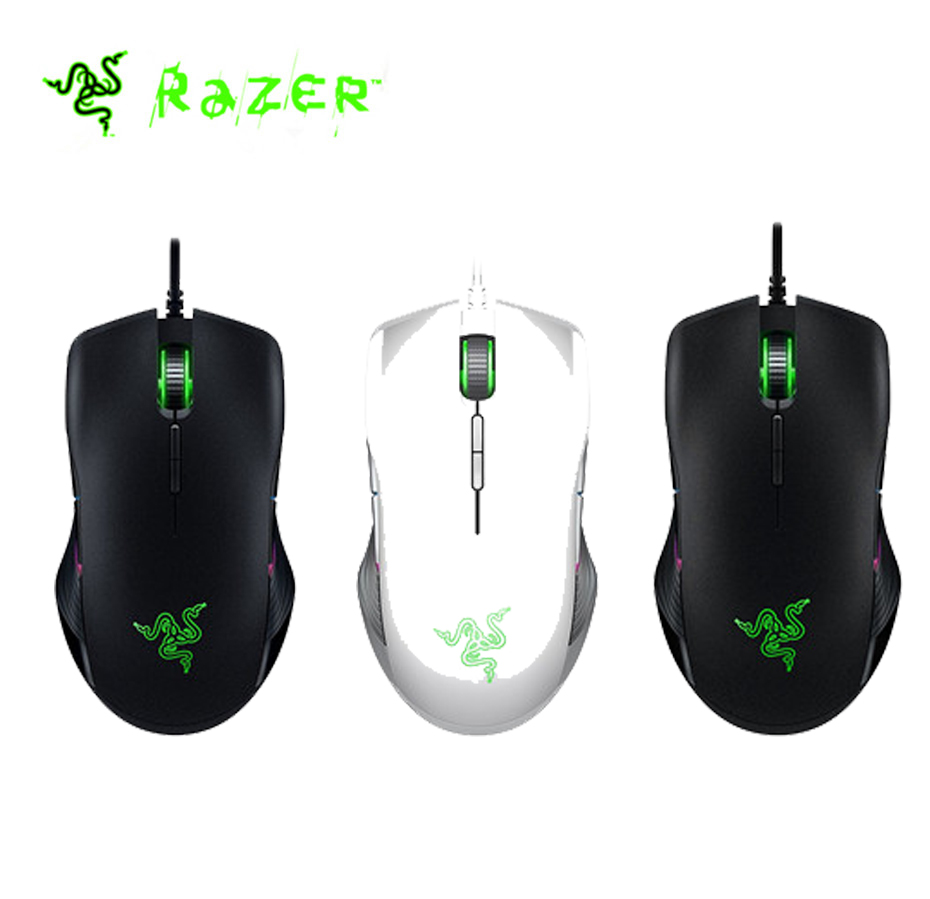 Original Razer Lancehead Tournament Edition Wired Gaming Mouse 16000 DPI 5G Optical Sensor Left and Right
