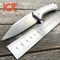 LDT 0808 Folding Messer D2 Klinge Alle Stahl Griff OEM Jagd Überleben Camping Tasche Messer Outdoor Military Messer EDC Werkzeuge-in Messer aus Werkzeug bei