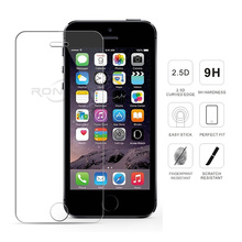 цена 2Pcs tempered glass for iPhone 7 8 Plus XS Max XR screen protector protective glass film for iPhone X 6 6s Plus 5 5s 5c SE 4 4S онлайн в 2017 году
