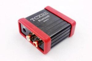 Image 3 - 12 V DC kablosuz bluetooth Ses Alıcı Kutusu RCA araba hoparlörü Amplifikatör Değiştirmek