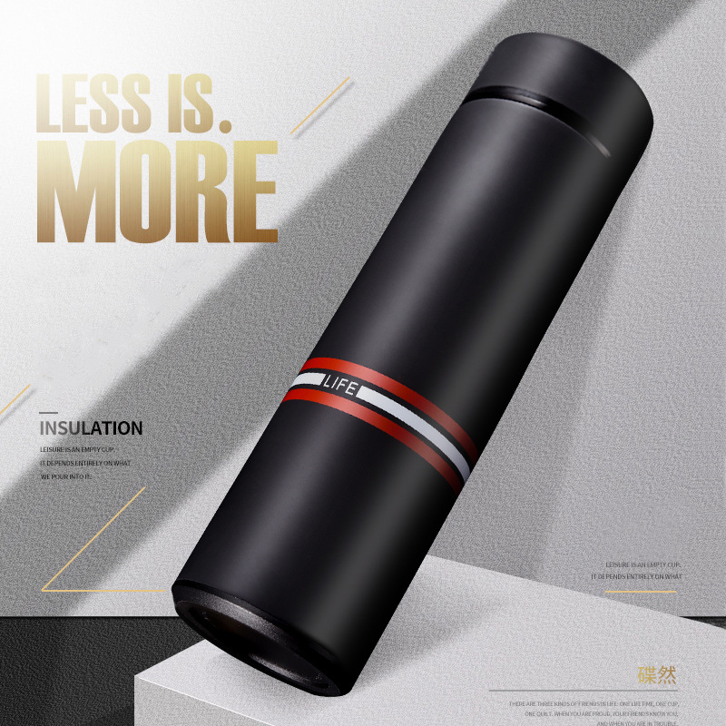 500ML Thermos mug Coffee Stainless Steel 304 with Filter Thermos Tea Drinking Travel Vacuum Flask Water Bottle Thermocup in Vacuum Flasks Thermoses from Home Garden