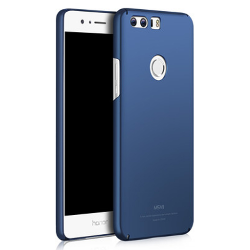 Original MSVII Brand Huawei Honor 8 case silicone scrub cover hard PC Back cover For huawei honor8 cases 5.2""
