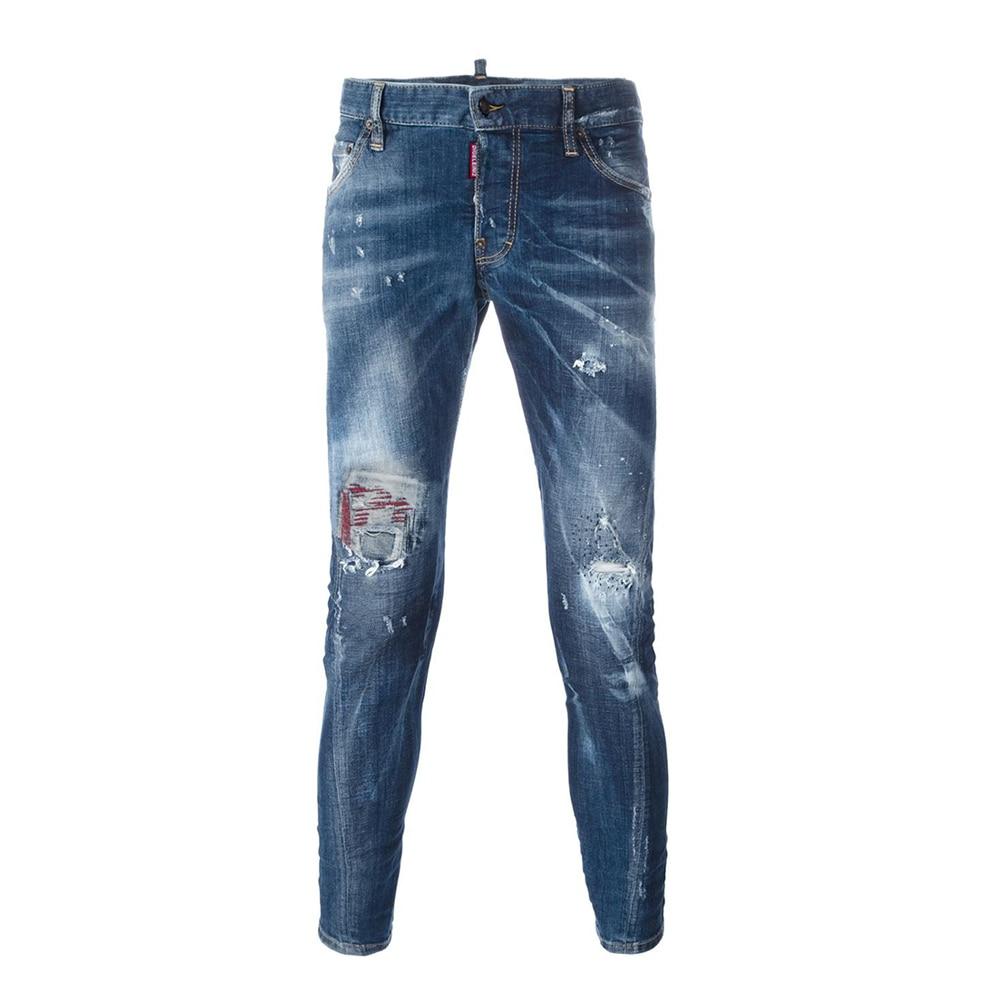 PP Bag Packaging!2017 New Arrivals Fashion design jeans men Famous Brand Men Slim Jeans male Straight pants Long denim Trousers new men slim straight locomotive jeans denim jeans cowboy fashion business designer famous brand men s jeans trousers pant 29 36