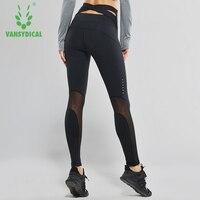Vansydical Women High Waist Yoga Pants Cross Belt Dance Tights Compression Running Leggings Skinny Fitness Sports