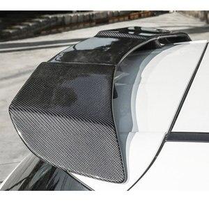 Спойлер на заднюю крышу из углеродного волокна, крылья для Mercedes Benz W176 A Class A200 A260 A45 AMG 2014-2018, Стайлинг автомобиля FRP черный