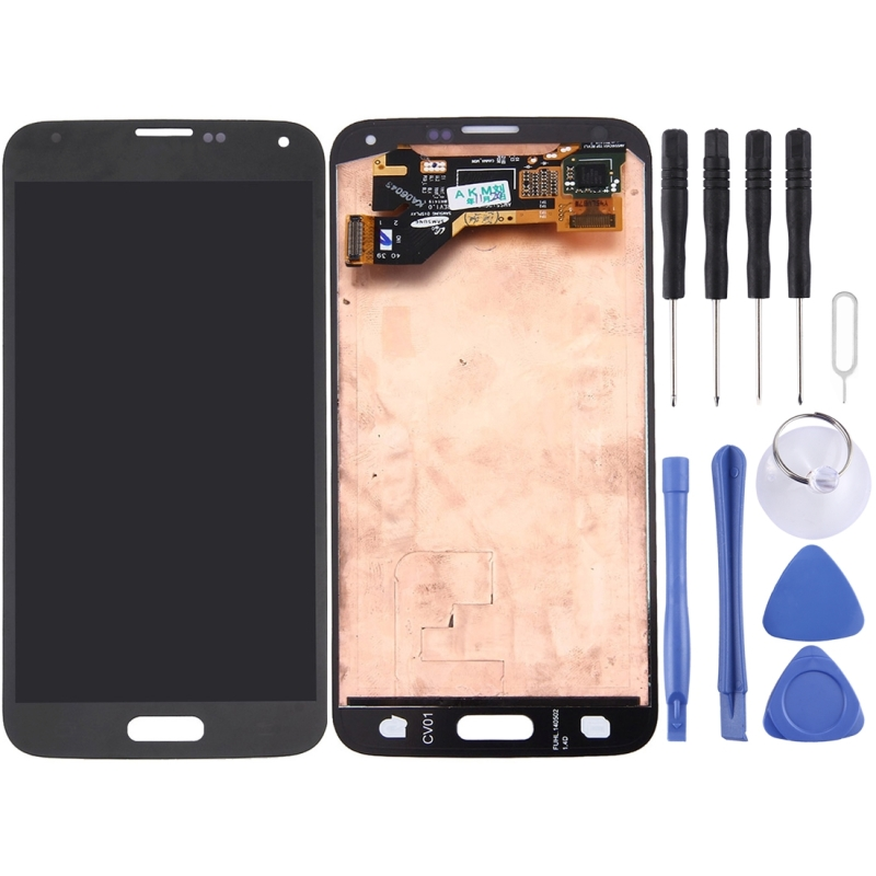 High Quality LCD Screen and Digitizer Full Assembly LCD Replacement Glass for Samsung Galaxy S5/ G9006V/ G900F / G900A/ G900IHigh Quality LCD Screen and Digitizer Full Assembly LCD Replacement Glass for Samsung Galaxy S5/ G9006V/ G900F / G900A/ G900I