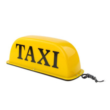 цены 12V 10 inch Taxi Cab Sign Roof Top Topper Car Super Bright LED Light Waterproof