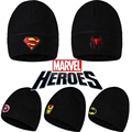 Fashion Headwear Marvel Hat For Men and WomenWinter Necessary Equipment Hot Fashion Fitted Warm Hat Outdoor Training Sport Hat