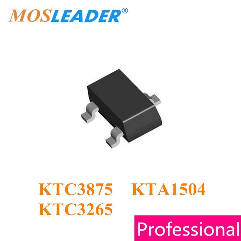 Mosleader 3000 шт. SOT23 KTC3875 KTA1504 KTC3265 C3875 A1504 C3265 высокое качество