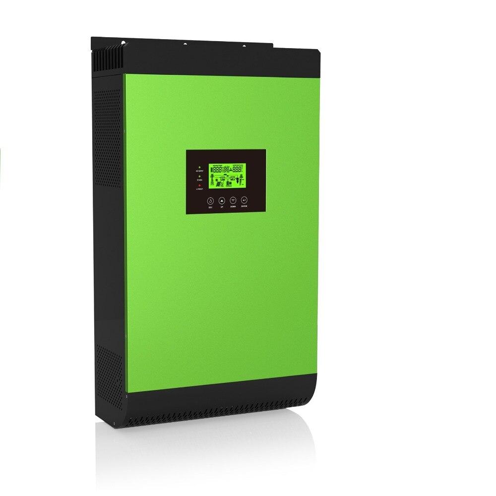 4000VA MPPT Hybrid Solar Power Inverter on/off Grid Tie PV System Energy storage inverter DC48V