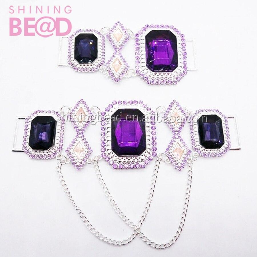 Заказной цветной Кристальный стеклянный соединительный элемент для бикини для купальника, 50 шт коротких и 50 шт длинных, всего 100 шт./лот