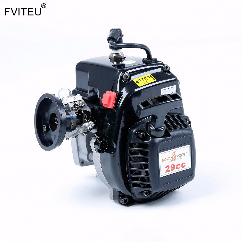 FVITEU 29cc 4 BOLT Motor met rui xing carb en china bougie fit 1/5 Schaal RC voertuigen HPI LOSI rovan KM - 2