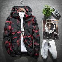 B Men Windbreaker Skin Coat Sunscreen Waterproof Mens Camouflage Army Outwear Ultralight Windbreake Jacket Autumn coat