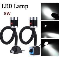 Led 데스크 램프 5 w 110 v-220 v cnc 기계 led 테이블 램프 빛 마그네틱 고정 기본 알루미늄 합금 작업 도구 cnc 기계에 대 한