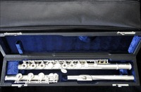 Buffet Crampon 17 Open Holes Flute Silver Plated B foot