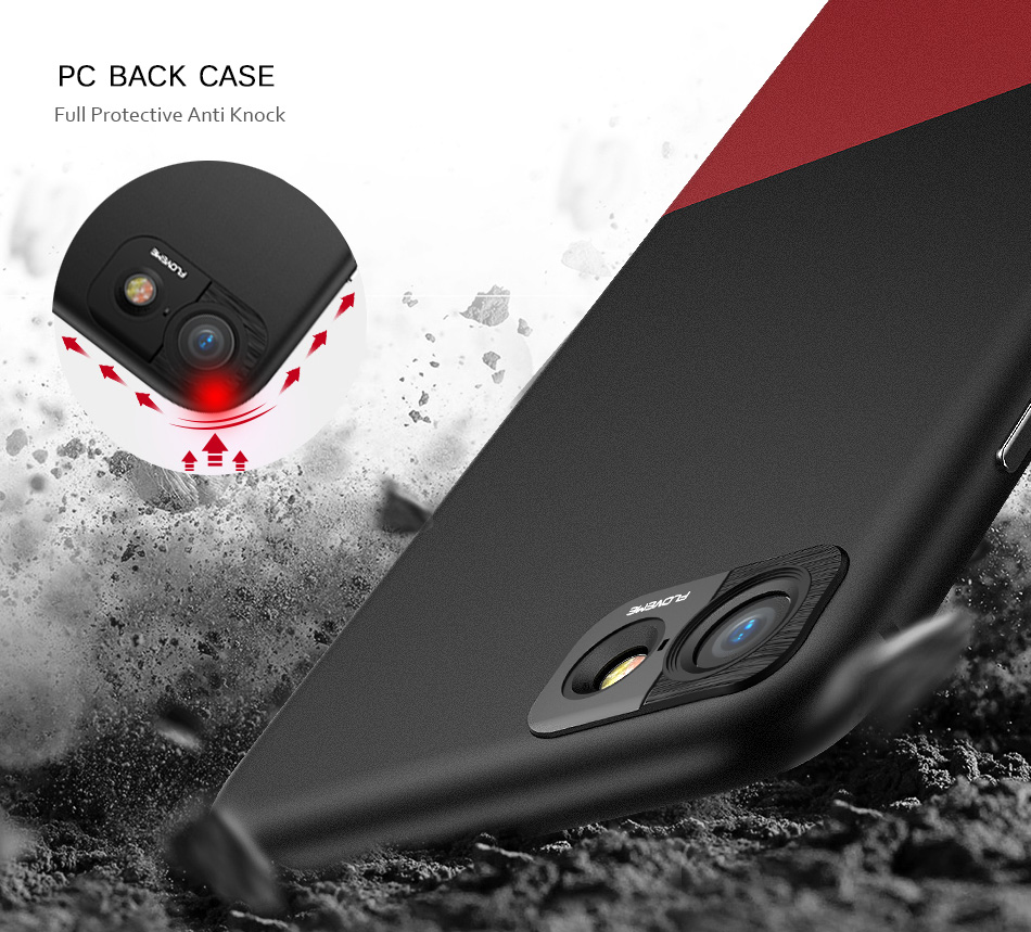 FLOVEME Fashion Contrast Hybrid Phone Cases For iPhone 6 7 6S Plus Higher Camera Protection Hard Hit Color Cover For iPhone 6 7 (10)