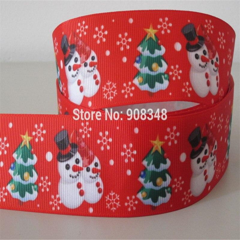 "Christmas Santa Elf Snowman 3/"" 2/"" 1/"" 75mm 50mm 25mm Grosgrain Ribbon"