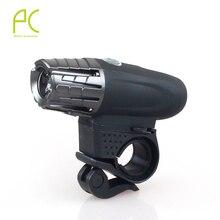 2016 Super brillante 200LM recargable USB LED frontal luz de la cabeza de la energía intermitente ciclismo bicicleta de seguridad de la lámpara a prueba de agua