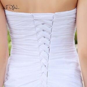 Image 5 - Платья для свадебных торжеств ADLN, шифоновые, со стразами
