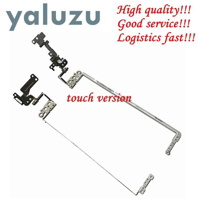 YALUZU 1 Pair LCD Hinges For Toshiba Satellite C50-B C55-B C55D-B C55T-B FOR Touch Screen Hinge