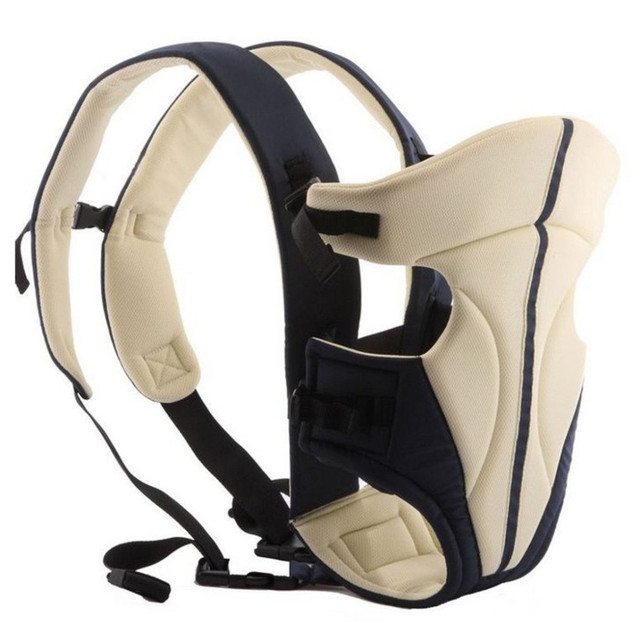 ergonomic Baby Backpack Carrier Infant Breathable Multifunctional Front Facing Back Carry Sling Pouch Wrap Baby Kangaroo