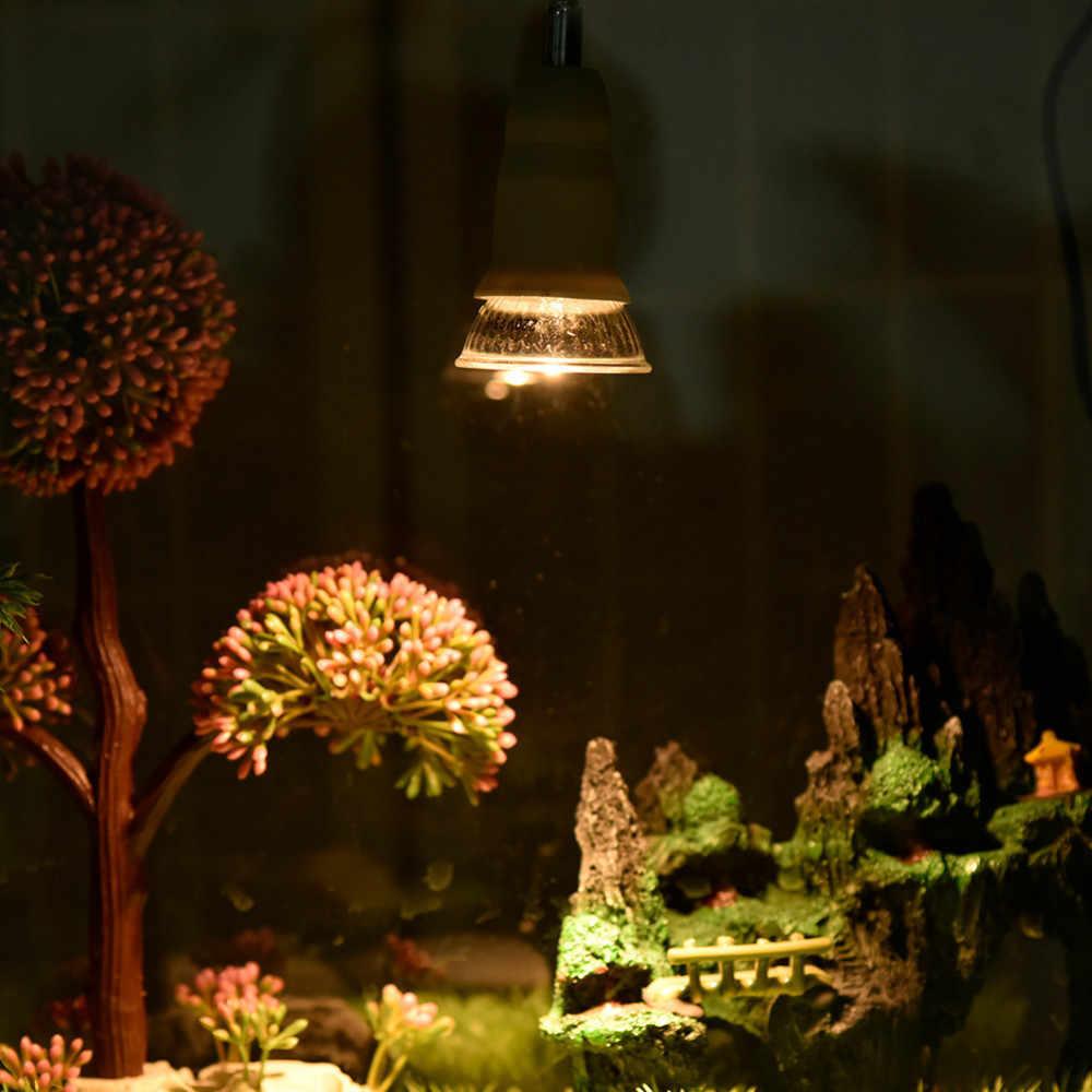 25/50/75W UVB เต่าแดดไฟสัตว์เลื้อยคลานโคมไฟ Full Spectrum Sunlamp ความร้อน Preservation ความสว่าง