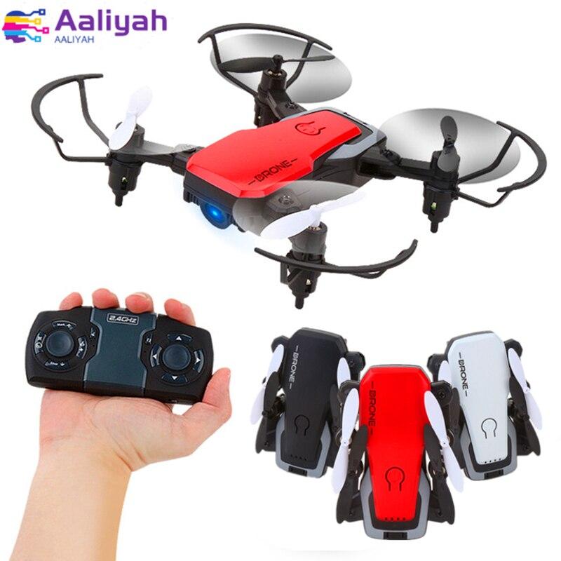 Mini cámara Drone Quadcopter 2,4 Ghz RC helicóptero 1080 P HD Video aéreo WIFI enlace transmisión Sensor de gravedad helicóptero plegable