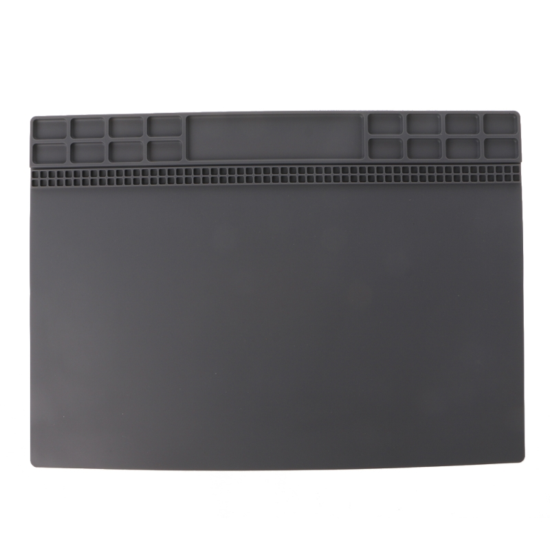 Heat-resistant Soldering Station Mat Silicone BGA Insulation Pad Repair Tool Maintenance Platform #Sep.08