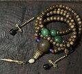 Blessed Mala Tibetan designer Mala Genuine Phoebe 108 Prayer Beads Buddhist Prayer Mala Beads Copper Counter  Dorje Amulet