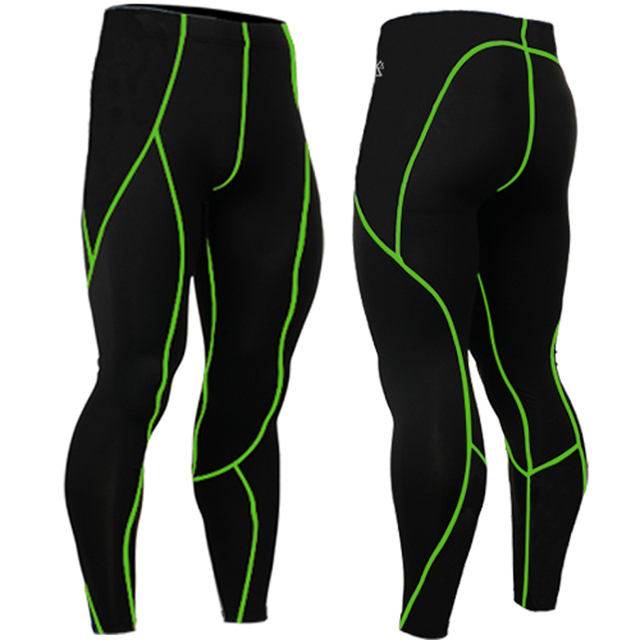 Year-around Mens Quick Dry Compression Tight Skin Pants Skinny Leggings Bottom Fitness Bodybuilding
