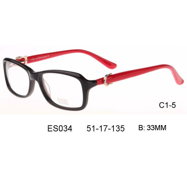 b02fb29f94 2017 New acetate plastic Brand Glasses moldura de quadros Eyeglasses Men  women Frame Myopia Prescription Glasses