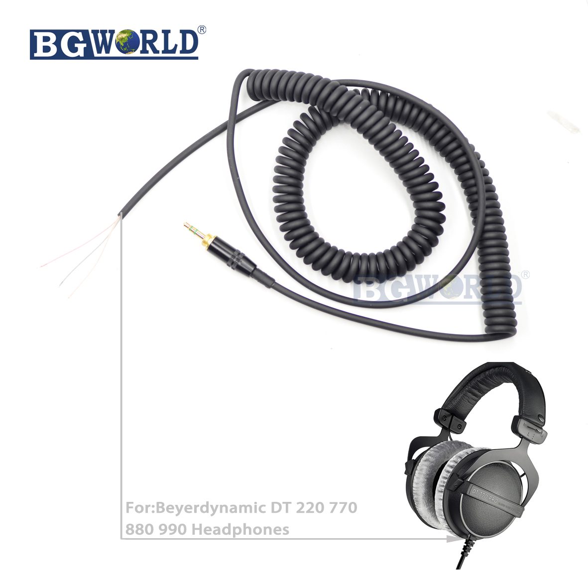 BGWORLD Replacement Cable Cord Wire Plug line earphone