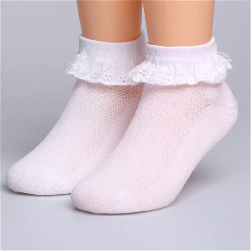 Children Socks Girl Cotton fashion Lace dance socks Baby Solid Wild socks Spring/Summer  ...