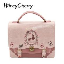 Лолита сумка женская рюкзак женщины для маленьких девочек цветок рюкзак Японии и корейский стиль характер рюкзак