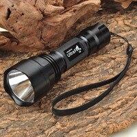Ultrafire C2 3W Flashlight Black 2 X CR123A 1 X 18650