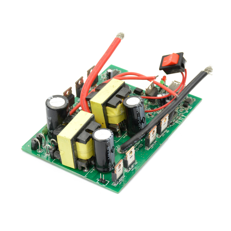 1PC inverter 12v to 220v 600W -1200W DC-AC Converter board Boost Transformer Power 1pc used s inverter board a5e00296878 zl02