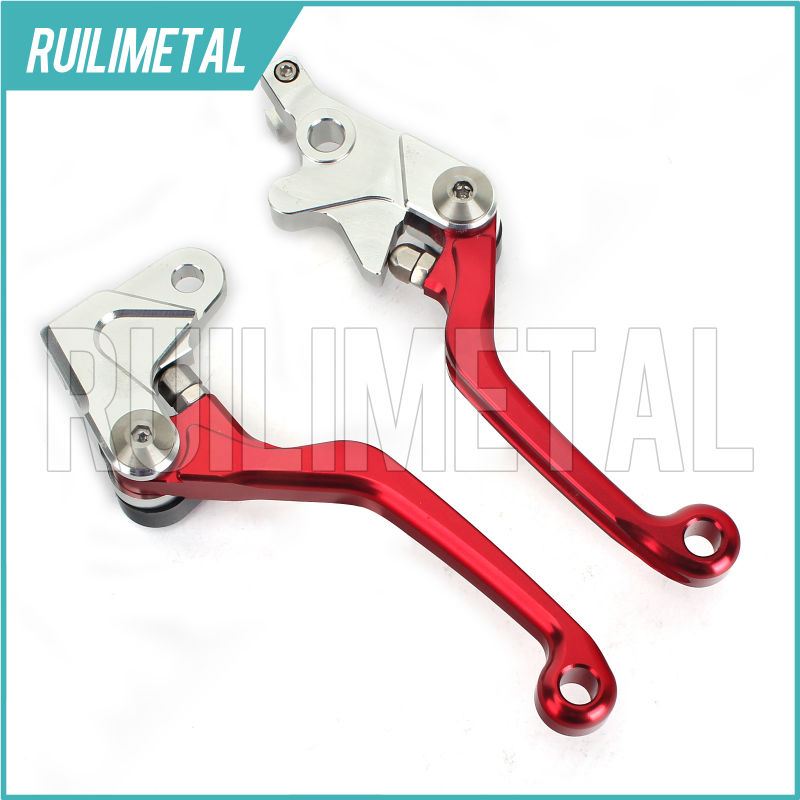 CNC Offroad MX Clutch Brake Levers for HONDA XR 250  MOTARD 95-07  CRM 250 R AR 94 95 96 97 98 XR400 MOTARD 05 06 07 08