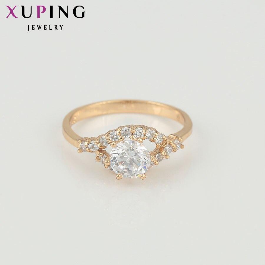 11,11 сделок Xuping элегантный кольцо Новый Модные украшения химическое CZ Кольцо для Для женщин Дамы День святого Валентина Оптовая Продажа 12667