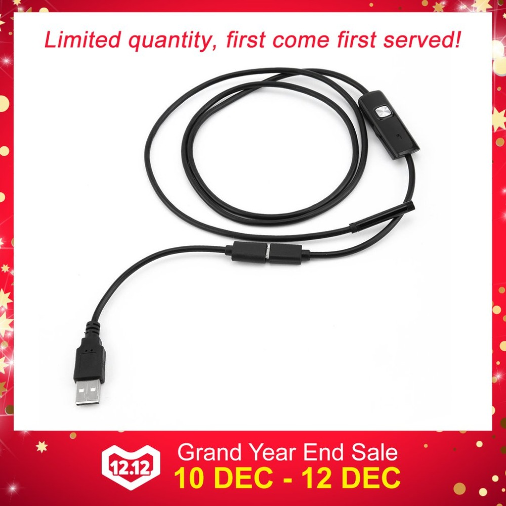 Video Surveillance Hd Usb Endoscope Camera 5.5mm Endoscope With 6 Led 1/1.5/2/3.5/5m Soft Cable Waterproof Inspection Borescope For Android Pc To Be Renowned Both At Home And Abroad For Exquisite Workmanship Skillful Knitting And Elegant Design