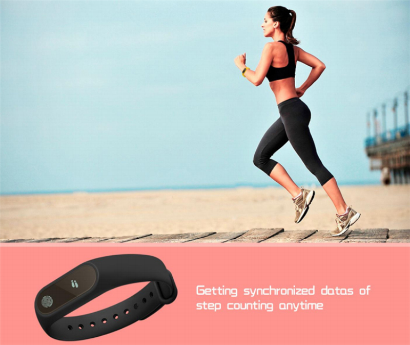 DTNO.I mi band 2 M2 Smart Bracelet Heart Rate Monitor Bluetooth Smartband Health Fitness Tracker SmartBand Wristband 2